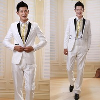 Ed men's clothing male formal dress the groom married suit suits groomed loading formal dress white