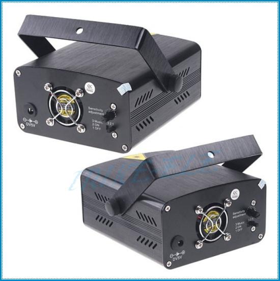 Освещения для сцены AC 100-240V Red&Green Laser Mini Moving Party Stage Light Projector laser dj party disco light