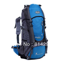 The large capacity double shoulder bag is waterproof backpack. Free shipping