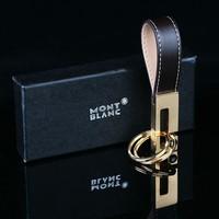 Nobility m high quality car luxury elegant copper keychain calf skin