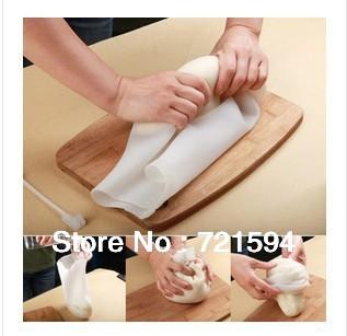 Free Shipping USA FDA Certificate DIY 100% Edible Silica Gel Food Kneading and Processing Preservation Bag Kneading dough bag(China (Mainland))