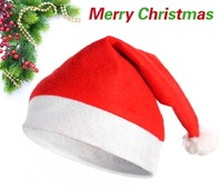 Christmas hat Christmas decoration santa claus hat non-woven christmas hats freeshipping