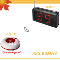 1Set 99 Zones LED display Equipment for calls in hospitals 99S w 10pcs Nurse calling buzzers DHL free shipping free