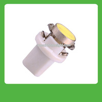 Free shipping 10 pcs/lot  car interior lamp 1W high power B8.5D led instrument lamp