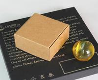 9x8.7x4.1cm high quality kraft paper box jewel gift handmade soap box paper packaging box