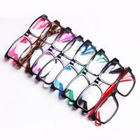 Fashion small plain glass spectacles male Women small box elegant all-match eyeglasses frame glasses frame