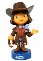 Free Shipping New year gift hot-selling dora doll dolls dora explorer doll cartoon anime figure Australia girl game