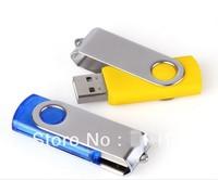 HOT !Genuine Capacity USB Flash Drive, , swivel usb flash drive, 2/4/8/16/32GB,FREE shipping,
