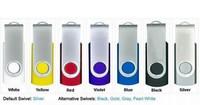 HOT !Genuine Capacity USB Flash Drive, , swivel usb flash drive, 2/4/8/16/32GB,FREE shipping,10pcs/lot