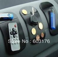 Free shipping 5pcs/lot 360 Degree Avirulent Magic Super Sticker non-slip mat for Phone mp3 mp4 Lab car bathroom