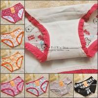 Dree 100% cotton cartoon young girl panties trunk 7