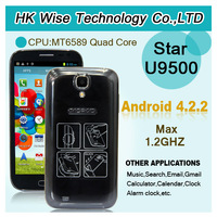 "2013 original Star U9500 Quad core Android 4.2.2phone 5"" Capacitive touch screen 1GRAM+4GROM smartphone/Joey"
