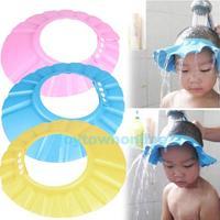 Adjustable Baby Child Kids Shampoo Bath Shower Cap Hat Wash Hair Shield    #1JT