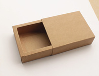 10.6*8.4*3.8CM High quality kraft paper box Jewel gift candy box Handmade soap packing box