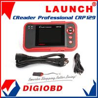 100% Original Launch Creader Professional 129 Auto Code Reader CRP129 equal to Creader VIII ENG/AT/ABS/SRS update Via Internet