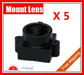 metal Board Lens holder/CCTV metal lens mount/cctv lens bracket.cctv lens holder,Free Shipping