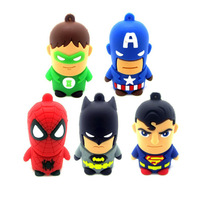 Free shipping Wholesale 5pcs/lot full capacity 4GB 8GB 16GB 32GB cartoon model 2.0 Memory Stick Flash Pen Drive, P2002