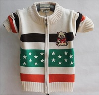 2013 New Arrival Children's  Knitted Sweater Children's Outerwear Cute & Warm Free Shipping Wholesale  TSM041