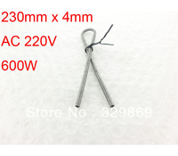 10Pcs AC 220V 600W Kiln Furnace Kanthal A1 Heating Element Coil Heater Wire 230mm x 4mm