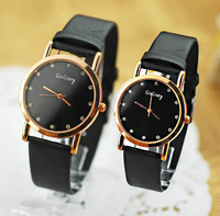 Holiday sale Gogoey brand watch fashion love pair crystal wrist quartz watch women men Go021