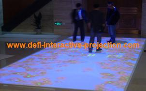 Low cost Interactive Floor Magic Floor for advertising, exhibition, event, education, wedding.with 74 effect