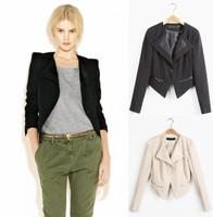 Женский тренч New Fashion Ruffle Collar Double Breasted Women Trench Coat Windbreaker Overcoat S M L XL XXL