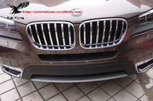 High Quality ABS Front Grill Cover Front Radiator Grills For BMW X3 F25 2010 2011 2012 2013(China (Mainland))
