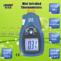 Pocket InfraRed Thermometer with Laser Pointer IR-77L