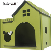 Kennel teddy kennel8 with a terrace wood kennel cat litter pet nest dog unpick and wash the dog