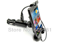 Cell Phone Charger Holder Car Cigarette Lighter Mount Holder Charger for Samsung Galaxy S2 S3 III S4 I9500