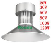 High power epistar waterproof 20w led high bay light ,high lumen 90-100lm/w 2800k-7000k 20w led industrial lighting