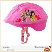 Children bicycle helmet, skateboard &skating helmet wiht picture three pink princess. Free shipping.