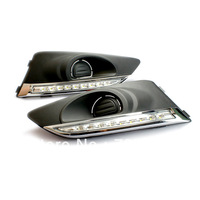 Free,drop and fast shipping for Chervolet AVEO car daytime runing ligths  with Hight quaility and  super white