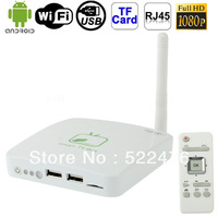 GV-11C 1080P Full HD Android OS 4.0 TV Set Top Box with WIFI, RJ45 + HDMI Interface, Support TF Card / USB Flash Disk