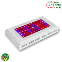 Free Shipping 1PC 3w chip led grow lights 55x3w indoor plants grow lights CE & Rohs 3 years warranty