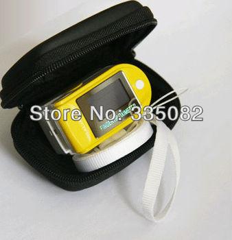 FDA CE Fingertip Pulse Oximeter Spo2 Monitor Blood Oxygen Monitor Pulse Oximetry for home hospital healthcare clinic 50pcs/lot