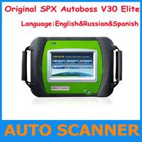 2013 New Release Universal Diagnose Scanner Autoboss V30 Elite/ Spx autoboss v 30 elite with multi-language update online