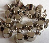 1000pcs 3/8 inch(12mm) Silver purse feet RIVET BUTTONS Punk Button Bag Belt Accessories DIY