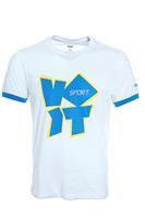 Flagship sportswear voet voit 100% short-sleeve o-neck cotton sports t-shirt male