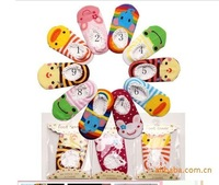 Hot selling!!! Free shipping 10pairs/lot individual packing 9-15cm baby foot cover, sock(Mix various styles),cotton baby socks,