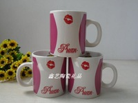 Cup promotional  small water  ceramic  child mug  creative coffee  cup