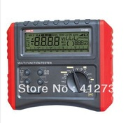 RCD Phase Consequence Loop/Line Impedance Insulation Resistance Earthing Continuity Multifunction Meter Tester UT595