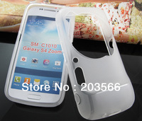For Samsung Galaxy S4 Zoom SM C1010 Matte Gel TPU Case