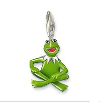 TP267(Min.Order $15)Wholesale 2014 New Items,Thomas Style,DIY Floating Lockets Enamel Frog Charms Pendants For Jewelry Making
