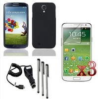 ZQ23 Case Cover+LCD+Pen+Charger for  SAMSUNG GALAXY S IV 4 R970 M919 I337 I545 L720
