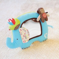 SKP Alphabet Zoo Activity mirror baby  Toy - Elephant
