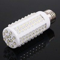 Free Shipping PROMOTION HOT Selling NEW E27 Cool White 108 LED Light 7W 360 Ultra Bright Corn Bulb Lamp 220V Free Shippng
