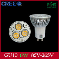 Free Shipping 10x NEW PROMOTION GU10 3W 6W 9W Warm Cool White Downlight High Power Energy Saving Light Lamp Bulb 85V-265V