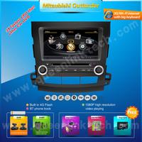 3G 8'' Mitsubishi Outlander Car DVD Player,AutoRadio,GPS,Navi,Multimedia,Radio,Ipod,DVR,Free camera+Free shipping+Free map