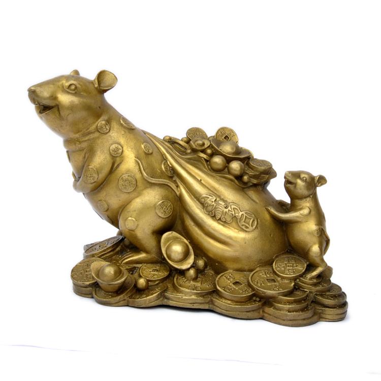 Copper-gold-bags-zodiac-rat-decoration-p